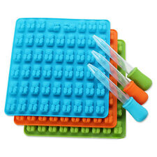 53 Cavity Silicone Gummy Bear Chocolate Mold Candy Maker Ice Tray Jelly Mould