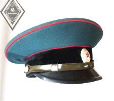 UdSSR Mütze 52/53für Rote Armee Uniform , Schirmmütze USSR Soviet army visor hat