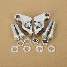 "1"" Chrome Shock Lowering Kit For Harley VROD V-Rod Night Rod Special Street Rod"
