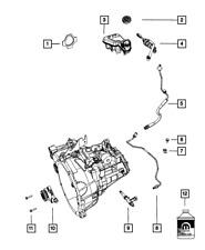 Genuine MOPAR Clutch M/Cylinder Tube 5273429AE
