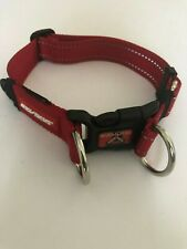 EZYDOG - Double Up Dog Collar RED  LARGE 39-59  CM    CDULR  Free Delivery