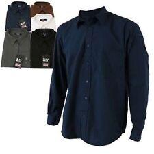 Camisas casuales de hombre azul talla S