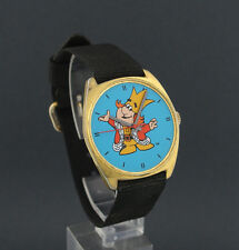 1970's wind-up Burger King Advertising Character Watch by Dirty Time Company