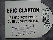 "ERIC CLAPTON – ""IF I HAD POSSESSION OVER JUDGEMENT DAY"" PROMO CD-SINGLE"