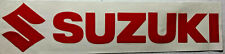 "SUZUKI LOGO Decal-2"" x 8.5""-laser cut-FREE SHIPPING"