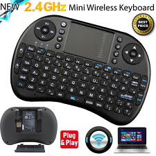 2.4 G mini tastiera wireless touchpad con Batteria per Android TV PC Laptop Xbox