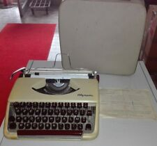 OLYMPIA SF DELUXE  MACCHINA DA SCRIVERE 1957 RARE VINTAGE TYPEWRITER WITH CASE
