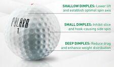 Ultimate Straight Golf Balls..NO MORE SLICES!!  ( 3 golf balls)