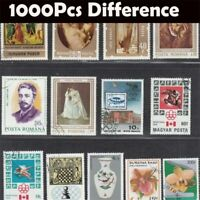 1000PCS/Lot No Repeat Postage Stamp Collections From Many countries With Post Ma