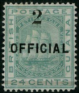 British Guiana  1881  Scott # 101  Mint Hinged