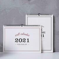 2021 Monatsplaner Kalender Agenda Organizer Home Hanging Decor N9O7