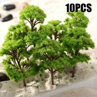 Model Trees 12cm Green Landscape Architecture 10pcs Banyan Train Plastic Wargame