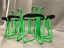 Nos colorful Neon green american classic bottle Cage/portabidones 80/90s