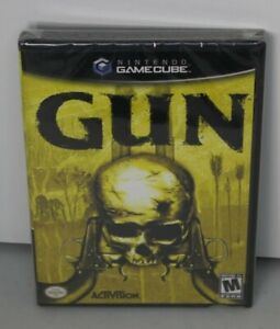 Gun (Nintendo GameCube, 2005) Factory Y-Sealed