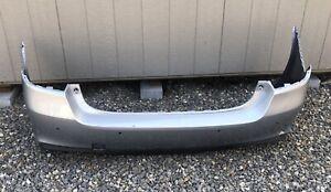 2018 2019 Subaru Legacy Rear Bumper Cover OEM 57704AL17A W/sensor Holes