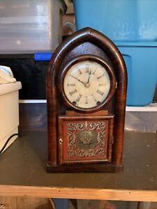 Antique Brewster & Ingrahams Clock