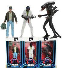 Aliens 40th Bloody Alien Xenomorph Brett & Parker Set 3 Action Figurines NECA