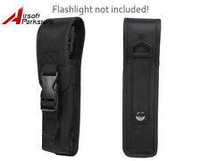 Belt Clip Flashlight Holster Pouch for 4.5cm Dia 24cm Length LED Light