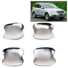 FIT FOR SUBARU FORESTER 2009~2012(SH) CHROME DOOR HANDLE BOWL COVER CUP TRIM