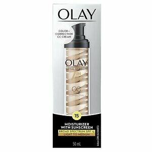 Olay Total Effects 7-n-1 CC Tone Correcting Moisturizer SPF 15 | 1.7 Oz |2 Pack