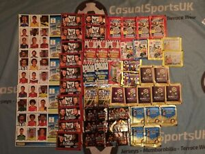 Job Lot of X 59 Football Sticker / Card Packets (Merlin Topps Panini) World Cup