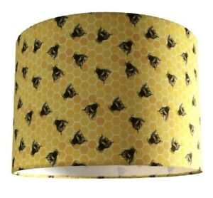 New HQ stunning flying honey bees design lamp shade pendant  Yellow Nest