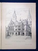 Eisenlohr/ Weigle Architektonische Rundschau 9. Jhg Lieferung 9 1893 Kunst sf