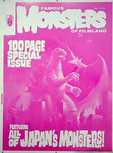 Famous Monsters of Filmland #114 Pub Master KEN KELLY  Cover Proof MAR 1975 #WA