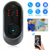 Wireless WiFi Smart Doorbell Video Phone Door Bell Visual Intercom Secure Camera