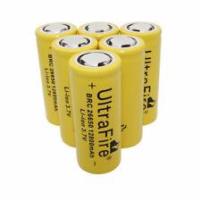 Batería 6 un. 26650 12800mAh Li-Ion 3.7V baterías recargables para Linterna UK