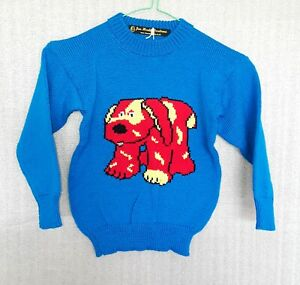 CHILDREN'S HAND-MADE JUMPER TO FIT: AGE 3 to 4 years