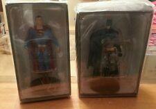 Dc comics two mini statues SUPERMAN and BATMAN NIB