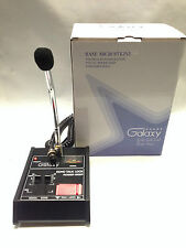 GALAXY ECHO MASTER POWER BASE MICROPHONE 4 pin Cobra CB Classic ROGER BEEP MIC