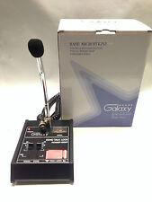 Galaxy Echo Master Power Base Microphone 4 pin Cobra Cb Classic Roger Beep Mic