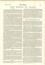 1897 Reise Rekorder Spalding Cyclometer Fußball Notizen AE Reinhart