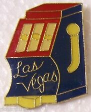Hat Lapel Push Pin Tie Tac City Las Vegas Slot Machine