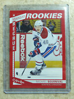 13-14 OPC O-PEE-CHEE Marquee Rookie RC Red Border SP #628 MICHAEL BOURNIVAL