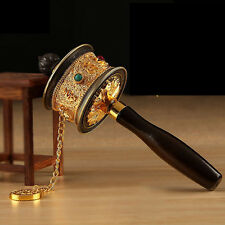 New design Copper Tibetan Tibet Buddhism Buddhist Mantra Prayer Wheel