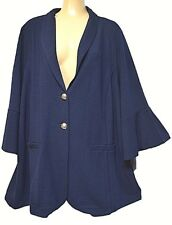 TS jacket TAKING SHAPE plus sz XL / 24 'Nautical' soft stretch navy NWT rrp$130!