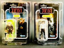 Star Wars Vintage Collection Han Solo Carbonite & Ree Yees VC137  VC136 carded