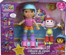 DORA THE EXPLORER SKATE & SPIN DORA AND BOOTS, NEW, NICKELODEON, FAST SHIPPING