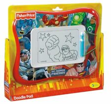 FISHER PRICE DC SUPER FRIENDS DOODLE PAD PRO MAGNETIC DRAWING SCREEN T4970 2010