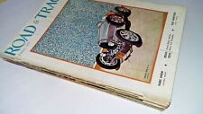 1957 ROAD and TRACK MAGAZINE VINTAGE LOT (11) CLASS CAR ADVERTISEMENTS
