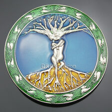 Celtic Knot Colors Tree Of Life Love Nordic Mythology Belt Buckle Pagan Wicca H6
