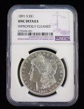 Morgan Dollar - 1891 S - KM#110 - NGC UNC Details - 2725696-001