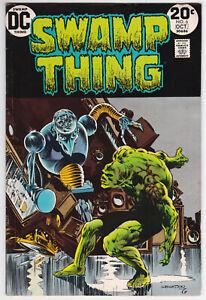 Swamp Thing #6 Very Good Plus 4.5 Len Wein Bernie Wrightson Art 1973