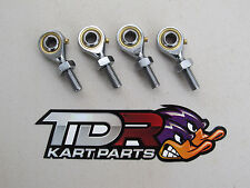 GO KART - 8 MM TIE ROD ENDS - SET OF 4