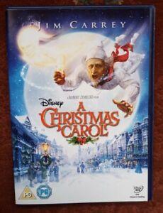 A CHRISTMAS CAROL /SCROOGE:  (DISNEY DICKENS XMAS FILM) [DVD] JIM CARREY MOVIE