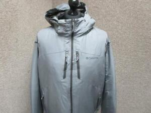 MENS COLUMBIA XL HOODED HEAVYWEIGHT RAINPROOF JACKET / REF A18 109