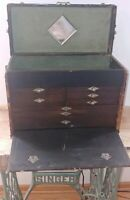 Vintage machinist chest made by WEDELL BOERS  Detroit Michigan